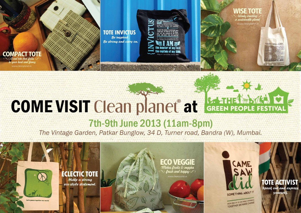 Clean Planet @ The Green People of India festival
