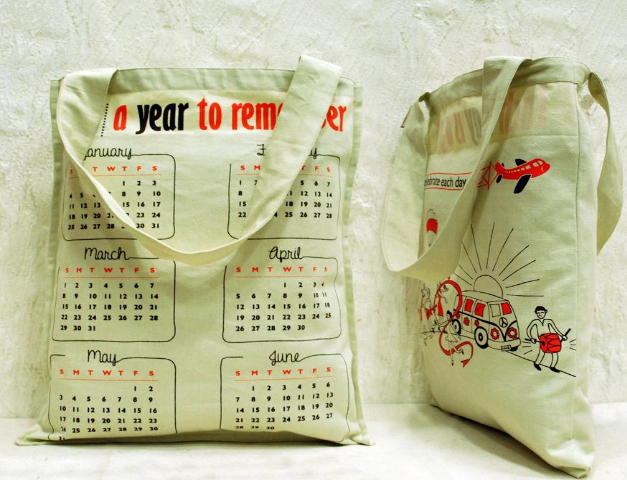 Clean Planet - Bag of the Year is a one-of-a-kind calendar