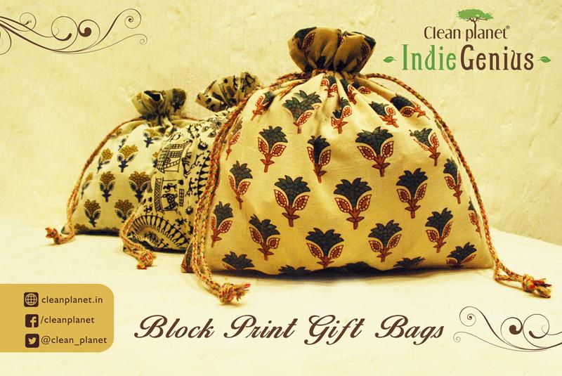 Indiginius Printed gift bag _Poster